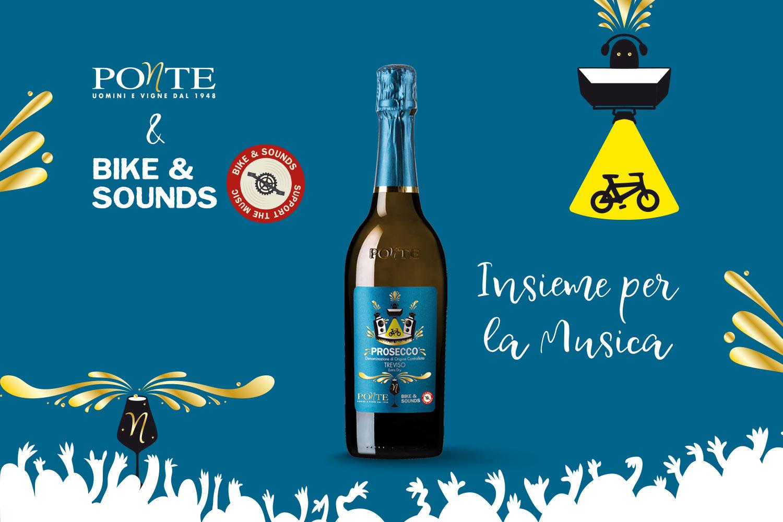 Ponte1948 pedala al fianco di Bike&Sounds
