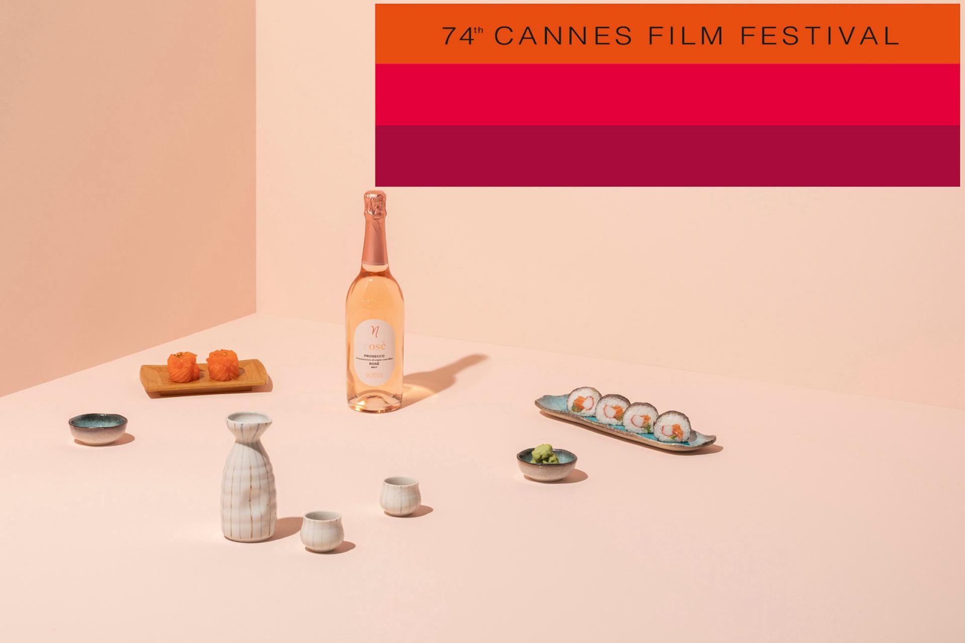 PROSECCO DOC TREVISO, ROSÉ E I COCKTAIL CHOOSE AL 74° FILM FESTIVAL DI CANNES
